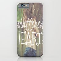 Shattered Hearts Club iPhone 6 Slim Case