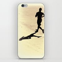 Running Man iPhone & iPod Skin