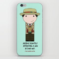 The Seventh Doctor iPhone & iPod Skin