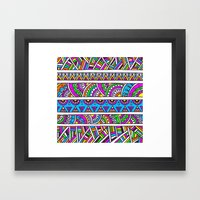 Electric Jazz Framed Art Print