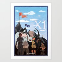 Vintage FF Poster XI Art Print