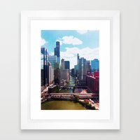 Chicago River View II Framed Art Print