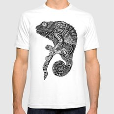 Chameleon  Mens Fitted Tee White SMALL