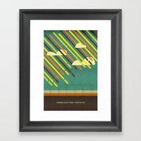 rise Framed Art Print
