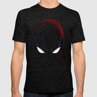 DEADPOOL! Mens Fitted Tee Tri-Black SMALL