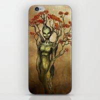 Crimson Dryad iPhone & iPod Skin