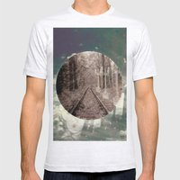 real world maze Mens Fitted Tee Ash Grey SMALL