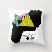 RainbowkitekidsStar Throw Pillow