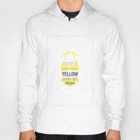 Yellow Polka Dot Bikini Hoody