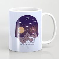 Skull Pier Mug