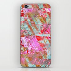 Confidence - Abstract, textured oil painting iPhone & iPod Skin