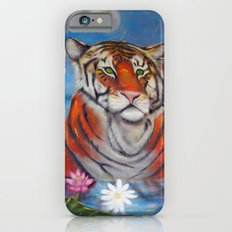 Bathing Tiger Slim Case iPhone 6s