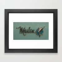 Marlin Framed Art Print
