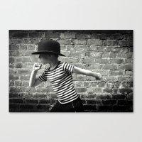 Juvenile Jazz 5 Canvas Print