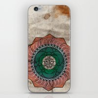 Spirography iPhone & iPod Skin