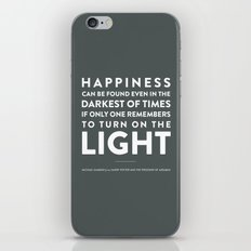 Light - Quotable Series iPhone & iPod Skin