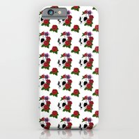 iPhone & iPod Case featuring Kitty Skull by Kirsten McNee
