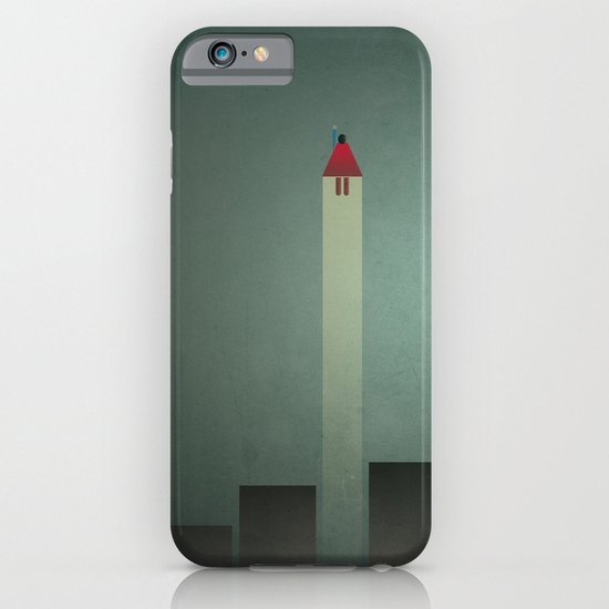 Smooth Minimal - Flying man iPhone & iPod Case
