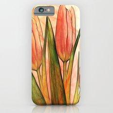 Tulips red Slim Case iPhone 6s