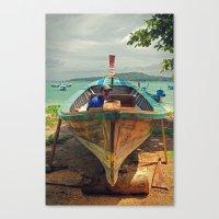 Fisherman -  Phuket - Thailand Canvas Print