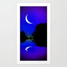 Mystic Moon 1 Art Print