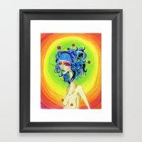 Medusa Has A Candy Coati… Framed Art Print