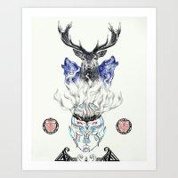Brotherhood 2 Art Print