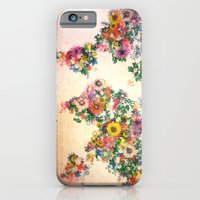 world map iPhone & iPod Cases featuring world map by Bekim ART