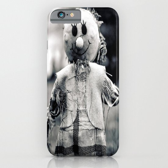 Cemetery smiley face iPhone & iPod Case