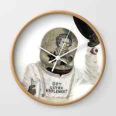 Clockwork Calavera Wall Clock