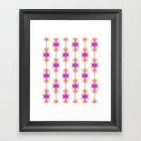 Pattern 9 Framed Art Print