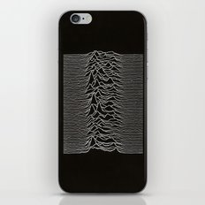 Unknown Pleasures iPhone & iPod Skin