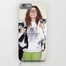 Crazy Cat Lady Photograph Slim Case iPhone 6s