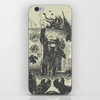 Space slugs die easy iPhone & iPod Skin