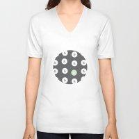 spot color ampersand Unisex V-Neck