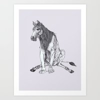 The Leucrota Art Print
