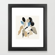 Familiar Mystery #5 Framed Art Print
