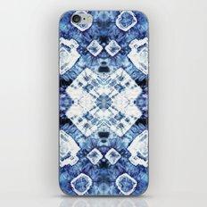Blue Silk Tie-Dye iPhone & iPod Skin