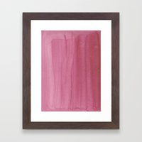 Painted Watercolour Pape… Framed Art Print