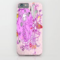 Pen And Ink Colorful Cat… iPhone 6 Slim Case