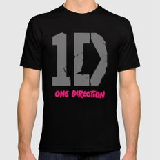 1 Direction Mens Fitted Tee SMALL Black