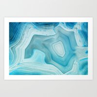THE BEAUTY OF MINERALS 3 Art Print