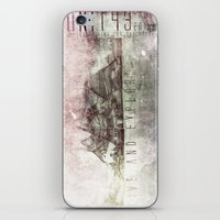 Live and Explore Mountains iPhone & iPod Skin