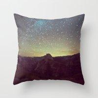 Night Luminescence 1 Throw Pillow