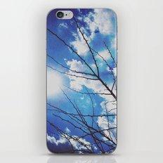 Thorns on blue iPhone & iPod Skin