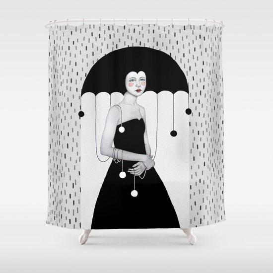 Rainy Minta Shower Curtain
