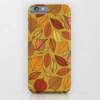 iPhone & iPod Case featuring Autumn Leaves by Elizabeth Caldwell