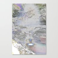 Chromascape 9 (Watkins Glen) Canvas Print