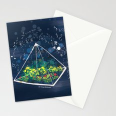 The Greenhouse at Night Stationery Cards