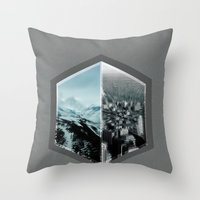 dont think twice  Throw Pillow